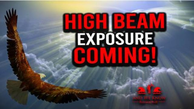 High Beam of Light Coming! Get Your GIANT VOICE Ready! Popcorn Time! - Must Video