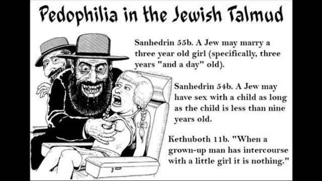 Image result for Jewish pedophiles cartoon