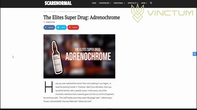 ADRENOCHROME - Those Who Know Cannot Sleep
