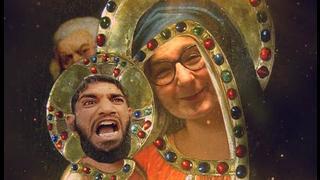 Die heilige Jungfrau Moria und ihre 13k Jesusse