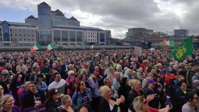 Dolores Cahill – Time For Change Protest – Dublin