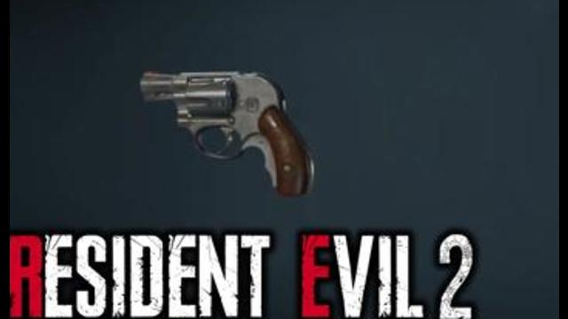 Resident Evil 2 Claire S Sls 60 Revolver Animations Rotation