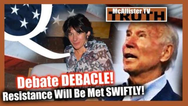 Joe's Debate Debacle! Epstein Island! Cannibalism! Nursing Home Murder! - Must See McAllister TV Video