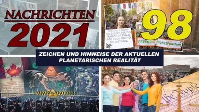 ALCYON PLEYADEN 98 – NACHRICHTEN 2021: Polizeistaat, Nürnberger Kodex, Impfablehnung, Klagen