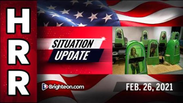 Situation Update, Feb. 26th, 2021 - Mad World Special Edition! - Mike Adams Must Video