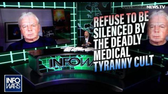 Trailblazer David Icke Lays Out the Road to Victory Against Globalist Medical Tyranny! - Alex Jones Banned Video