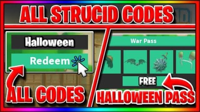 Hallwoeen War Pass All Strucid Codes Roblox