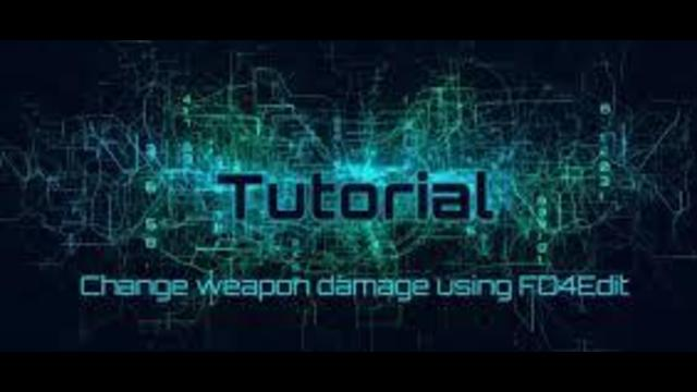 Fallout 4 Tutorial Changing Weapon Damage Outputs Using Fo4edit When increasing damage, the base damage is multiplied by the modifier and added to weapon's current damage (the displayed damage.) a: changing weapon damage outputs using