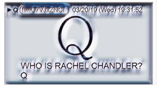 Who is Rachel Chandler