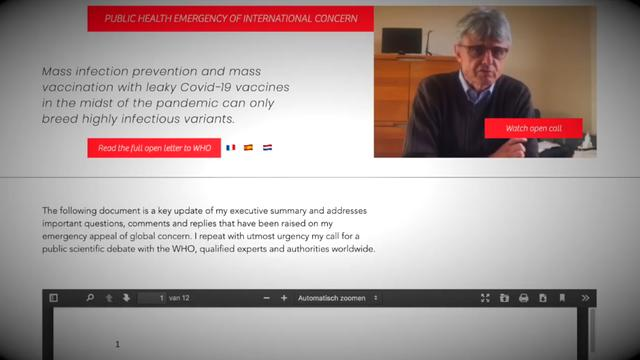 Achtung WARNUNG! Geert Vanden Bossche (Weltweiter Top-Virologe)