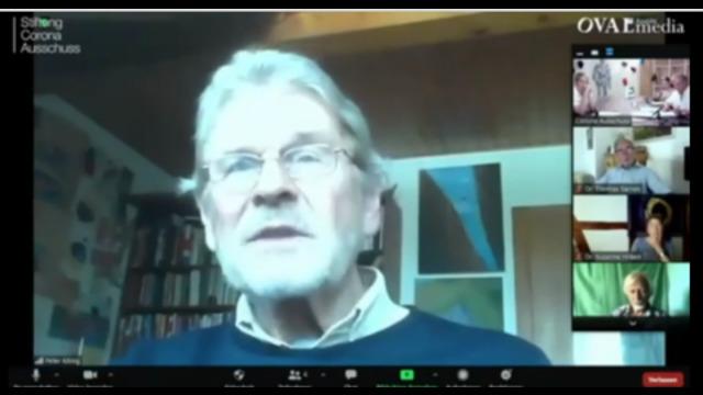 Corona-Ausschuss: Aussage von Peter König/ehemaliger Senior Economist bei der Weltbank/WHO