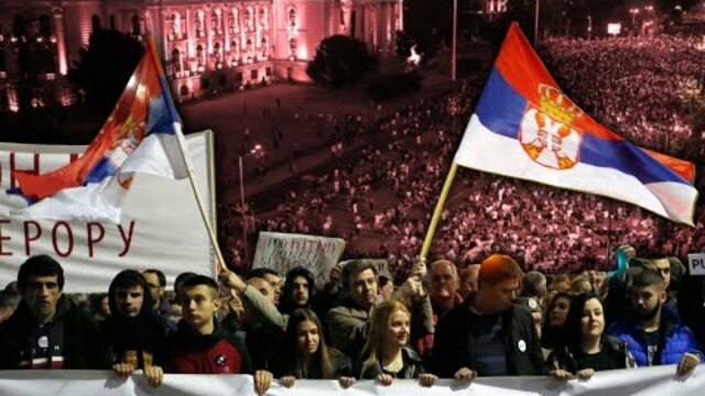The People Win As Serbians Force Government to Scrap Curfew