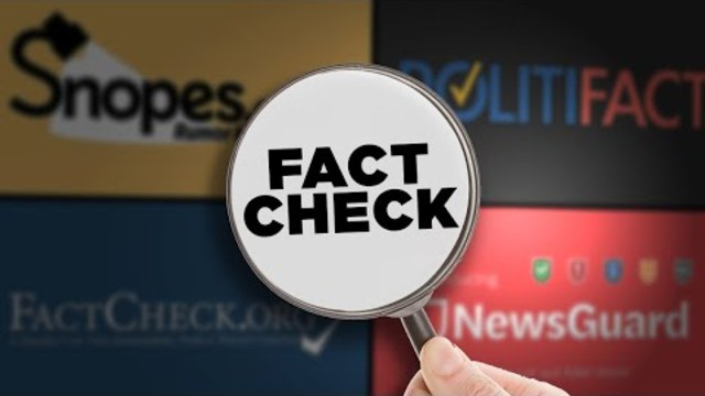 Who Will Fact Check the Fact Checkers?