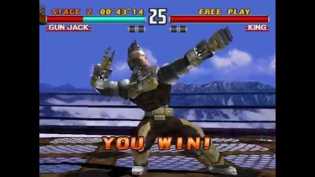 Tekken 3 Gun Jack Arcade Mode My Gamepla