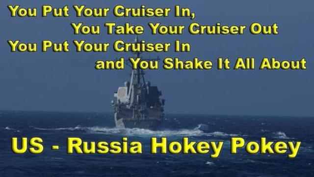 China Implosion Suckage & Russia-US Naval Ships Say Hi!!- On The Fringe Must Video