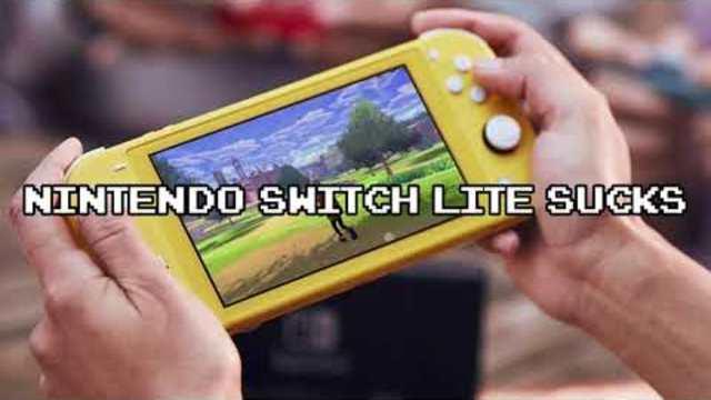 Nintendo Switch Lite Sucks