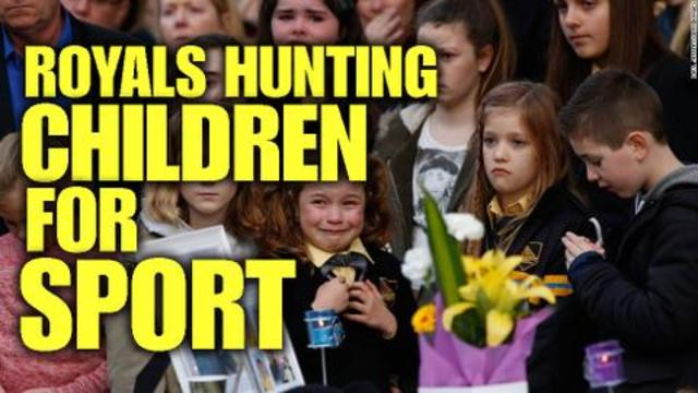 Image result for image of Royals Hunting Children For Sport