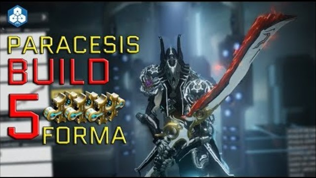 Warframe Paracesis Build 5 Forma Max Rank 40 Sentient Slayer The paracesis,the sentient slayer.the idea of it.it is the only thing that can end this war. forma max rank 40 sentient slayer
