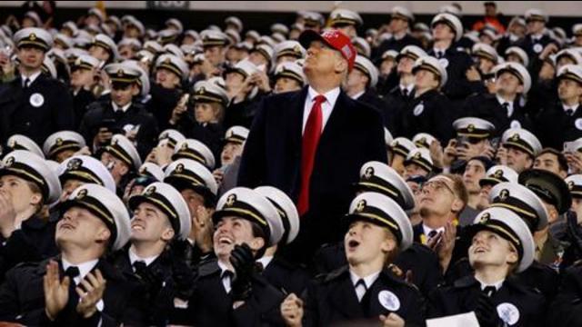 Trump unter Kadetten