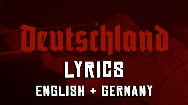 rammstein deutschland dalszöveg