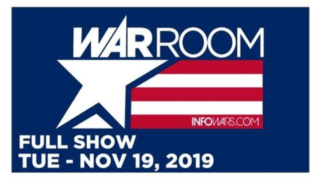 WAR ROOM (FULL SHOW) TUESDAY 11/19/19 • DAN LYMAN, LEE STRANAHAN: REVEALING UKRAINE, TARA LAROSA