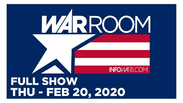1 WAR ROOM (FULL SHOW) THURSDAY 2/20/20 • TRUMP SPEAKS ABOUT ROGER STONE, NEWS, CALLS & ANALYSIS