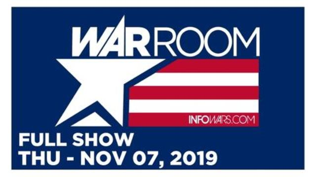WAR ROOM (FULL SHOW) THURSDAY 11/7/19 • ROGER STONE TRIAL REPORT, MAGDALEN ROSE, NEWS, CALLS