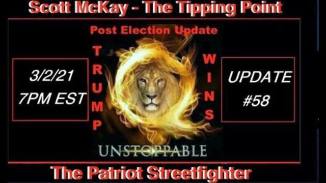 Scott McKay - Patriot Streetfighter Post Election Update 58: Interviewing Mel K! - Must Video