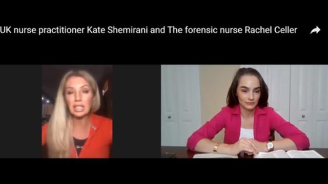 Uk Nurse Practitioner Kate Shemirani And The Forensic Nurse Rachel Celler Mirrored