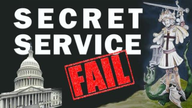 Amazing Polly: Secret Service Fail At Capitol Before Inauguration! - Must Video