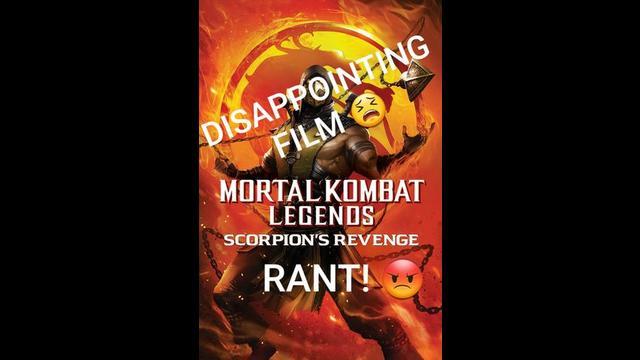Rant Mortal Kombat Legends Scorpion S Revenge 2020 Movie Review