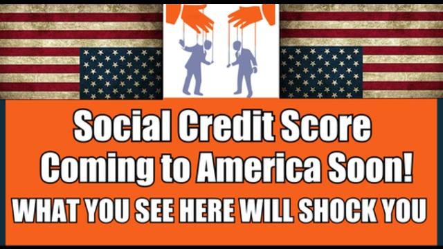 Demnächst: Amerikas eigenes Sozialkreditsystem
