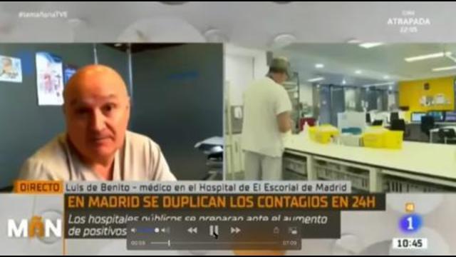 Hoe een Spaanse arts weigert mee te werken aan de leugens van de media
