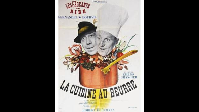 LA CUISINE AU BEURRE 1963 #phs.017034 Photo FERNANDEL /& CLAIRE MAURIER