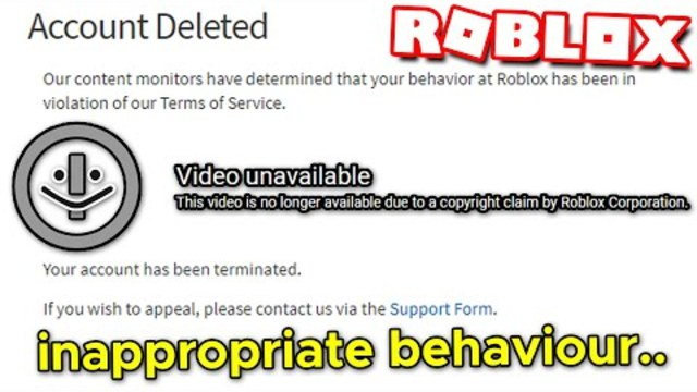 Roblox Appeals Phone Number Roblox Condo Youtuber Dazzely Dazzle Terminated With A False Copyright Strike