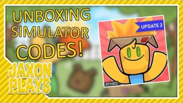 All Codes Unboxing Simulator Roblox All Codes In Unboxing Simulator Roblox