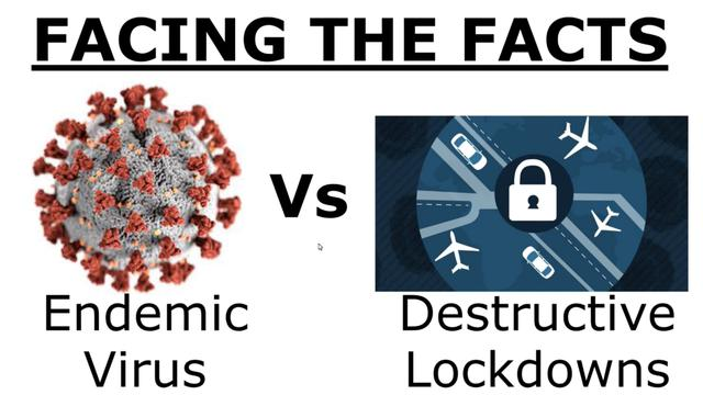 Oct 20th Shocking Data Endemic Virus versus Damaging Lockdowns