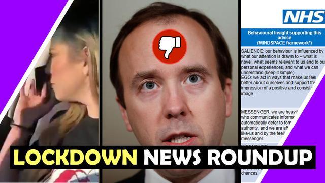 NHS PSY OPS Nudge Lockdown News Roundup Hugo Talks #lockdown