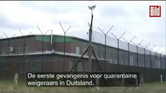 Strafkampen Gevangenissen in Schleswig Holstein in Duitsland voor mensen die