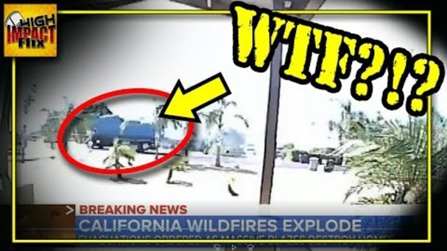 Image result for MSM REALLY Expects You to Believe THIS Started   California's Wildfire
