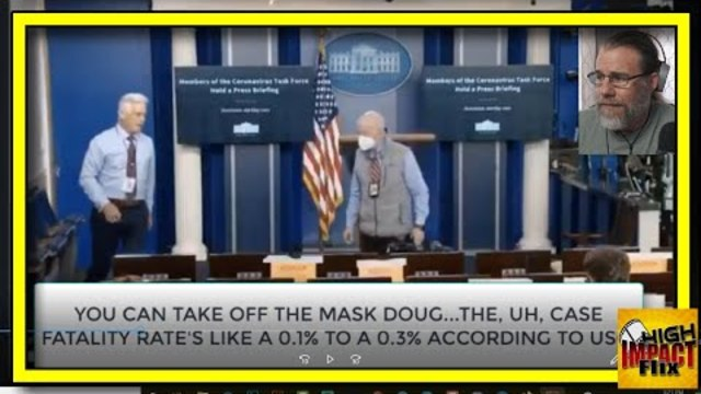 "White House Press Corps Caught on Hot Mic ""Take Off the Masks...It's a HOAX!"""