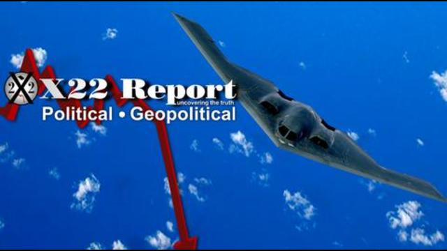 X22Report: Stealth Bomber Incoming! Chatter Amongst Those In Control Has Begun! Deep State Panic! Game Over! - Must Video
