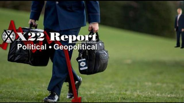 X22Report: The Narrative Begins, Football Tracked, 25th Amendment Now Being Pushed, Like Clockwork! - Must Video