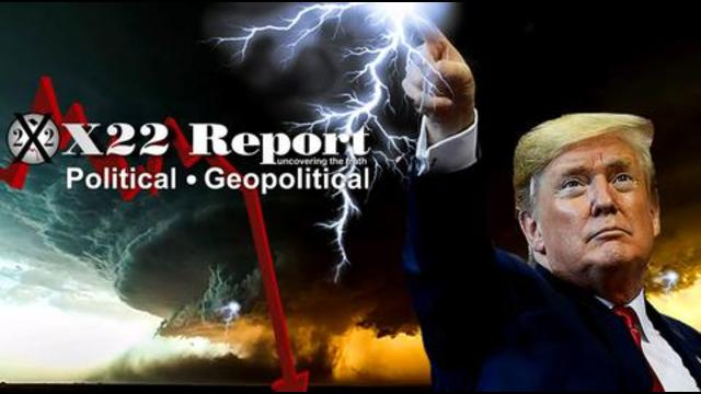 X22Report: Trap Set! These People Are Stupid! Do You See The Storm Forming! Panic In DC! - Must Video