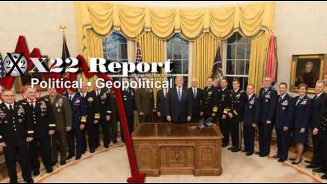 X22Report -  Out They Go! Clean House Is Very Important! Deep State Panicking Over Durham & AZ Forensic Audit! - Must Video