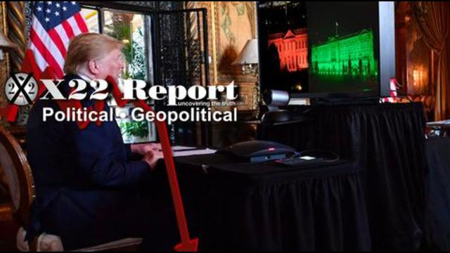 X22Report: Red, Green, Stage Set, War by Other Means, Think Irregular Warfare! - Must Video