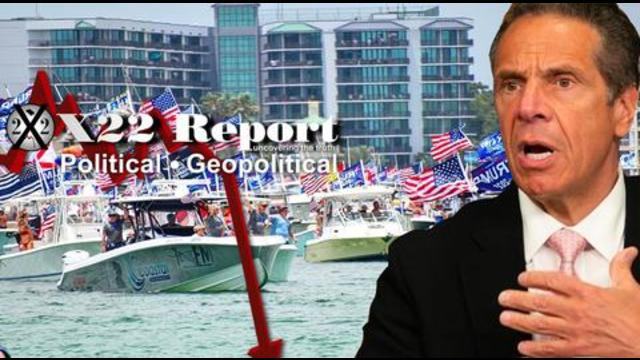 X22Report: It's Time To Restart Everything, Patriots Only Go Public When They Want The Target To Know! - Must Video