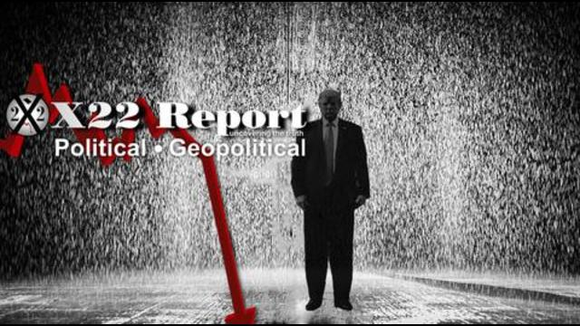 X22Report: Deep State Corrupt House Of Cards Is Tumbling Down! No Deals! No Place To Hide! Rain Coming! Pain! - Must Video
