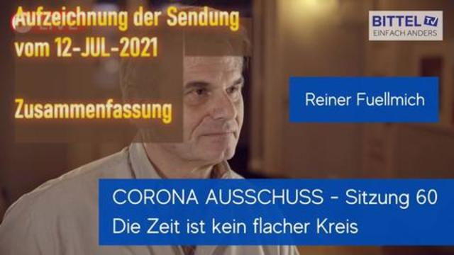 LIVE – Reiner Fuellmich – Zusammenfassung Corona Ausschuss Nr. 60