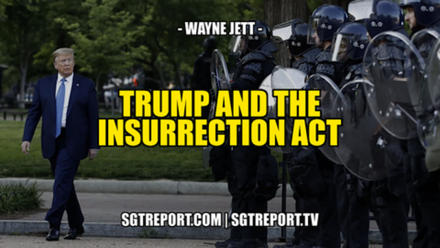 Donald J. Trump & The Insurrection Act! - SGT Report Must Video